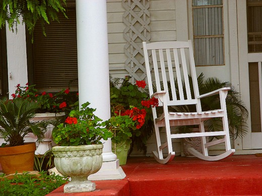 Rocking Chairs are a classic piece of furniture.