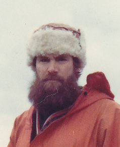 Picture of the author at 41 as a member of the Australian National Antarctic Research Expeditions.