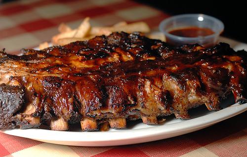 Baby Back ribs  by disneymike via Flickr