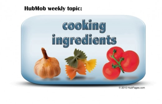 Weekly Topic: Cooking Ingredients