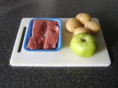 Principal Ingredients of Just One Pork Fillet Tenderloin Meal Idea