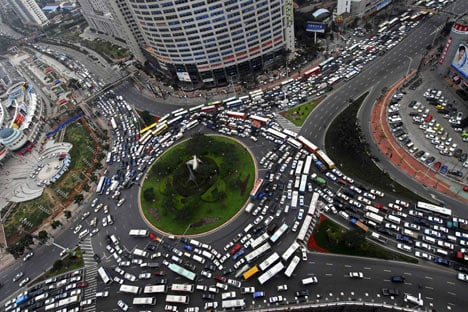 Gridlock, the manifest state of society.