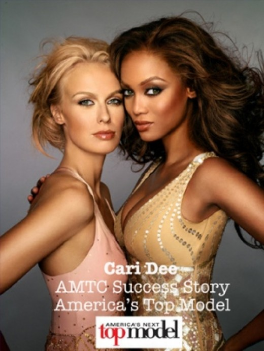 Caridee and Tyra Banks (America's Next Top Model)