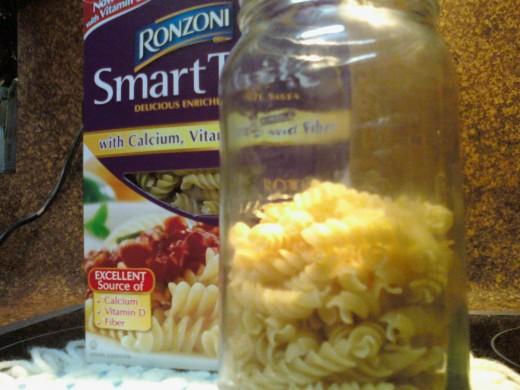 High Fiber Pasta.