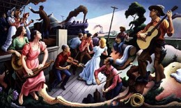 An inspired vision by Thomas Hart Benton