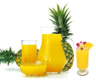 Use your juicer grinder and make fresh pineapple juice. Serve chilled