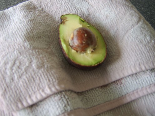 Destoning an Avocado