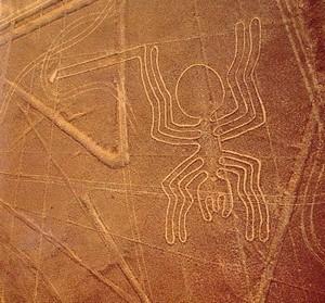 Nazca plains in South America
