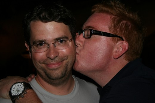 Courtesy of BrentDPayne - Flickr - Jeremiah Andrick Pictured with Google's Matt Cutts