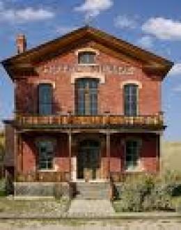 Original Montana capital; Haunted Bannack Hotel