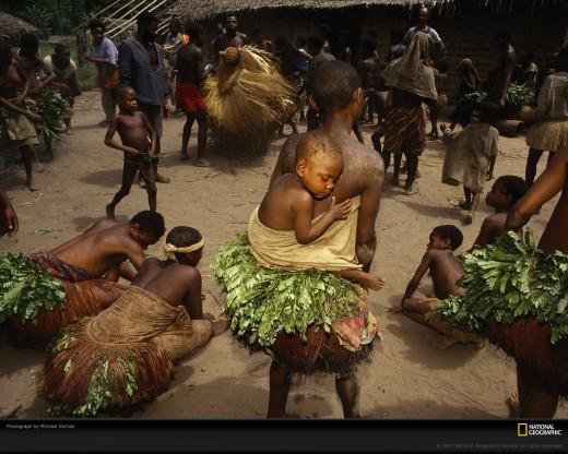 Djoube Pygmies