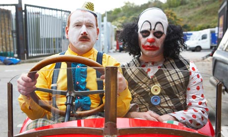 Mr Jolly and Mr Jelly, from the BBC series 'Psychoville'