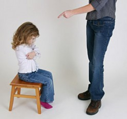 Disciplinary techniques for children