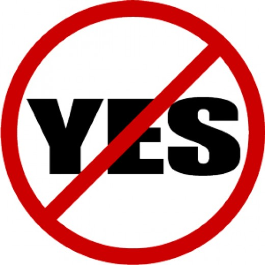 No is not = to YES