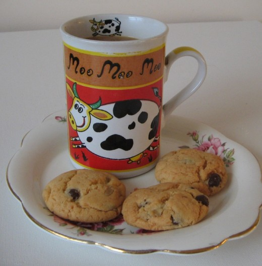 Walnut Biscuits are great to have with a Mug of Coffee