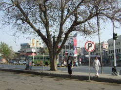 Travelling down Mall Road, Lahore, Pakistan