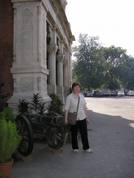 Entrance to Lahore Museum