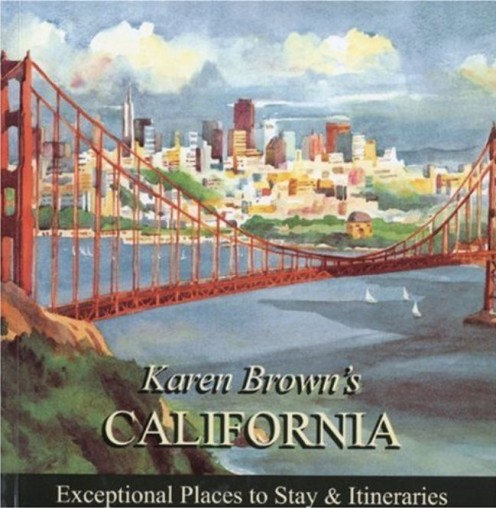 Karen Brown's California is just one of her guides to the USA.