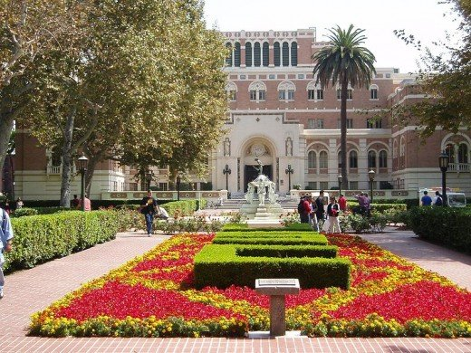 The University of Southern California, my daughter's Alma mater.