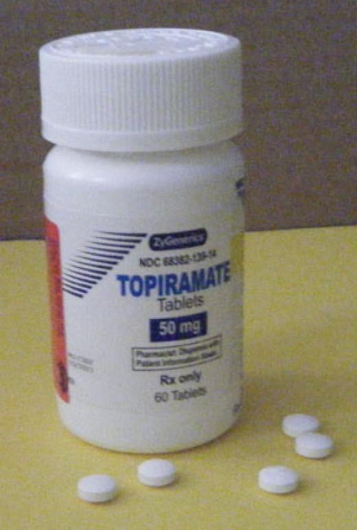 Topiramate (generic Topamax)