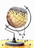 Too Many People - Too Little Planet