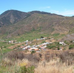 Valle de Arriba is a Tenerife village in a typical Canary Islands valley