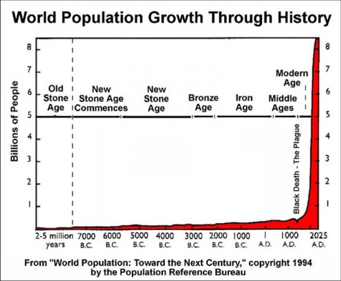 The Vertical Climb Of Humans In History