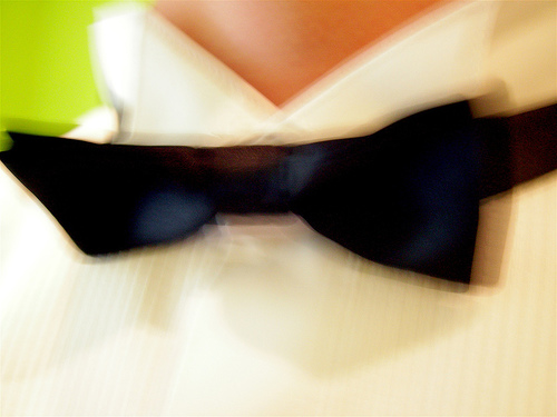 You can learn how to tie a bow tie!