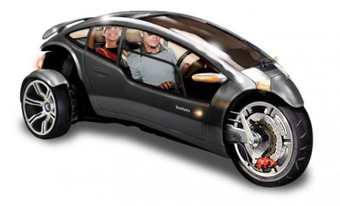 Innovative Hybrid 3-wheel car