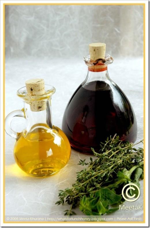 BALSAMIC VINEGAR & BUTTER OIL (Photo Courtesy of http://lh5.ggpht.com/)