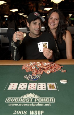 David Singer & His Wife  (c) World Series of Poker