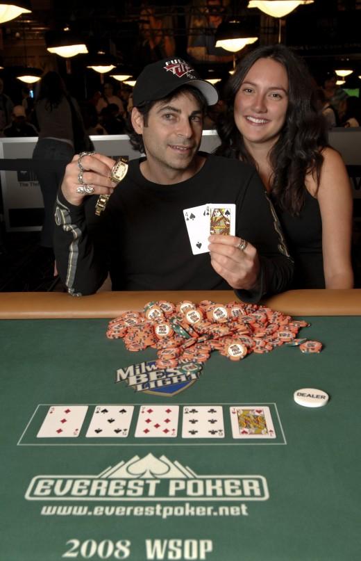 David Singer & His Wife  (c) World Series of Poker