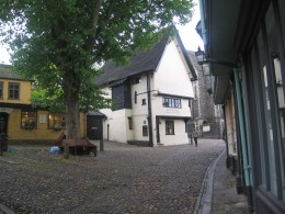 Britons Tea Rooms, at the top of Elm Hill