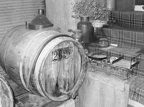 Antique Greek Vinegar Barrel  by Festblues via Flickr