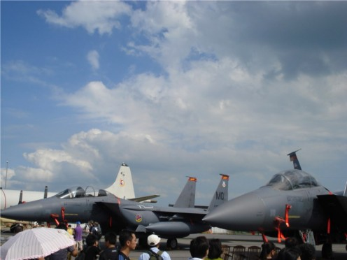 Singapore Air Show - Fighter Jets