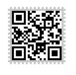 Reconstructed QR Code from the coffee cup