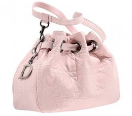 Dior Pink Leather Cannage Bag