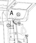 Uniflame body and side burner detail