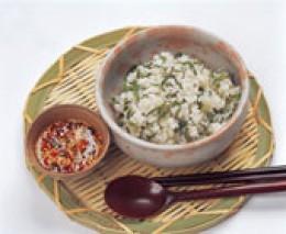 RICE IN GREEN TEA SOUP