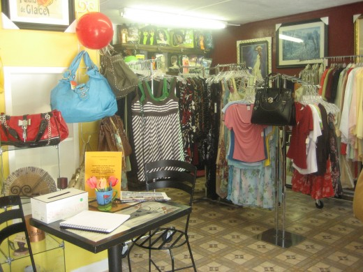 Another view of my former boutique