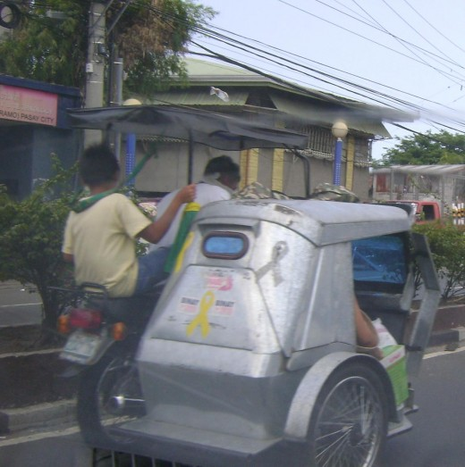 "Standard Philippines ""tricycle"" as they call them."