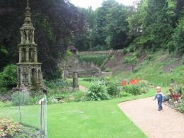 Views across the gardens
