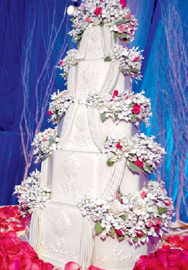 Christina Aguilera's Wedding Cake