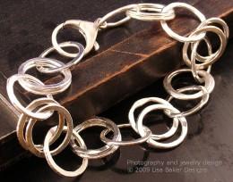 Silver Ring Bracelet