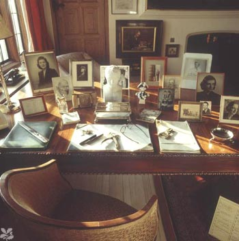 Winston Churchill's Desk