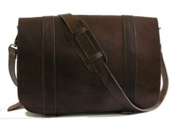 The Men's Leather Messenger Bag