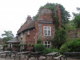 The Adam and Eve - oldest public house in Norwich