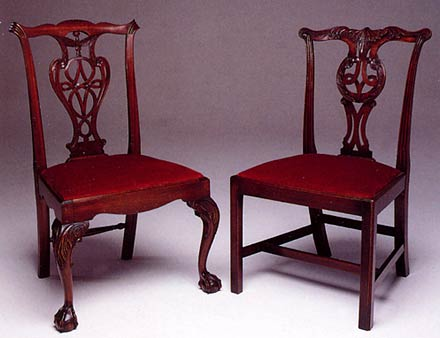 these are chairs made over 200 years ago