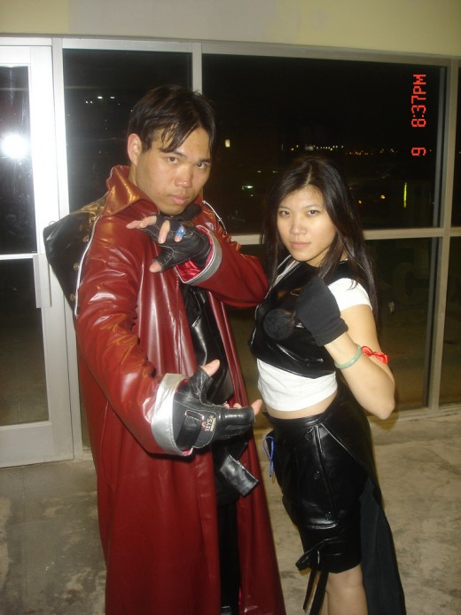 Tifa Lockhart and Genesis Cosplay. Source: Flickr, svtiepe