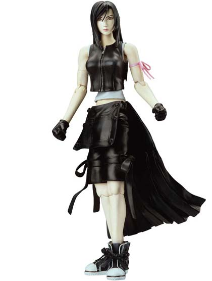 Tifa action figure based on Final Fantasy VII Advent Children